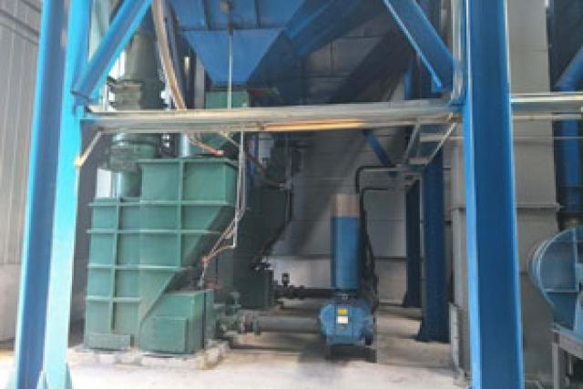 绿色铸造新改性水玻璃砂设备主要特点