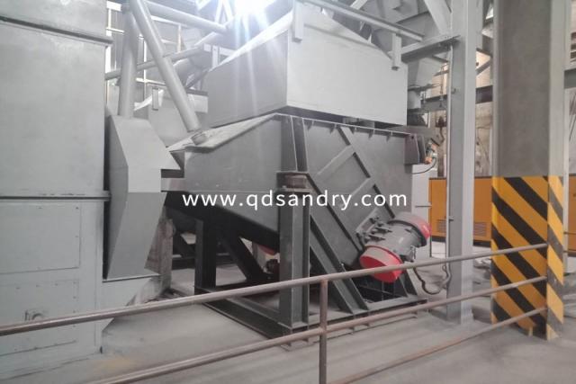 高溃散改性水玻璃砂造型在高锰钢生产中的应用